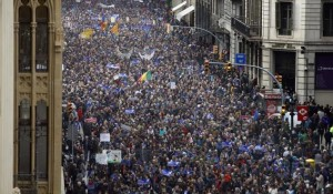 Manifestacion Barcelona 18 de febrero 2017