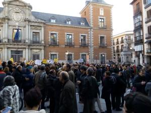 Concentración Madrid 27 de febrero de 2017